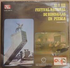 XI Y XII FESTIVAL NACIONAL DE RONDALLAS EN PUEBLA MEXICAN LP STILL SEALED RONDAL