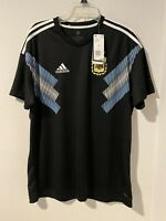 Adidas Argentina Away Black CD8565 Jersey Men's Size XL Messi-MSRP $90 World Cup