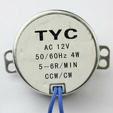 New Stock Synchronous Synchron Motor 50/60hz Ac 12V 4W 5/6RPM CW/CCW J96