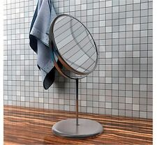 IKEA TRENSUM Stainless Steel 2-Sided Bathroom Magnifying Makeup Shaving Mirror