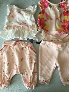 Baby Girl Clothes Bundle New born + 0-3 mths Ted Baker