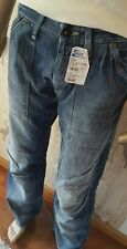G-Star Fire Elwood jeans uomo 50198.905.089 PRIMER aged w31 l34 NUOVO ***