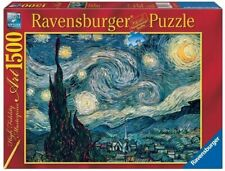 Jigsaw Puzzle 1500: Van Gogh, Night Starry, by Ravensburger
