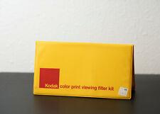 New listing Vintage Kodak Color Print Viewing Filter Kit, Kodak publication R-25 No.150 0735