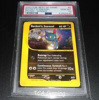 PSA 10 GEM MINT Rocket's Sneasel #5 WINNER Best of Game WOTC Promo Pokemon Card