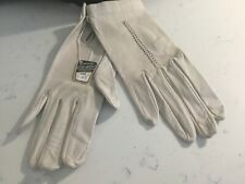 Vintage Nwt Ladies Authentic Leather Pirced Costa Del Sol Torremolinos Gloves Nr