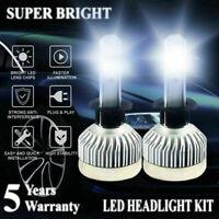 H3 LED Fog Lights Headlight Conversion Kit Car Driving DRL Bulbs 1800W 25LM