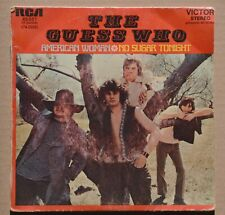 45t The Guess Who - American woman
