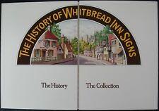 WHITBREAD EMPTY ALBUM & ADVERT MAP LEAFLET - DEVON & SOMERSET