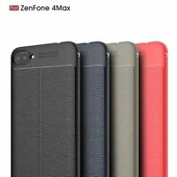 For ASUS Zenfone 4 Max ZC520KL Hybrid Leather Coated Case Ultra Slim Soft Cover