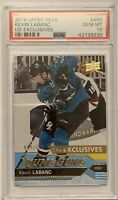 2016 2017 UPPER DECK Kevin Labanc PSA 10 YOUNG GUNS EXCLUSIVES RC ROOKIE #/100
