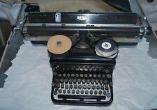 Vintage Royal Typewriter 1930s Wide Carriage Typewriter