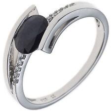 Ringe mit Edelsteinen natürliche Saphir 54 (17,2 mm Ø)