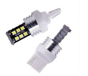 Ampoules T20 LED W21W Veilleuses Blanc Xenon 6000K pour Feux de jour BMW