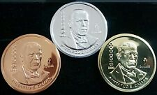 MEXICO $100000 PESOS 1990 PROOF PATTERN SET ALUMINUM-COPPER-BRASS EXTREMELY RARE