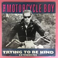 The Motorcycle Boy - Trying To Be Kind - Chrysalis CHS-12-3310 Ex Condition