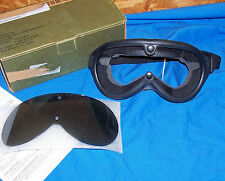 USGI Off Road Goggles Clear & Gray Lens Army Motorcycle Racing ATV Dune Buggy