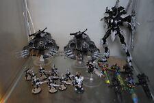 warhammer 40k Eldar Wraithknight, Serpents und einige Truppen