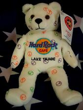 HRC Hard Rock Cafe Lake Tahoe Peace Bear Beara Bär Teddy Series 2004 Herrington