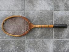 "Vintage Ken-Wel ""Super Special"" Wooden Tennis Racket-Camera Corner-Louisville KY"