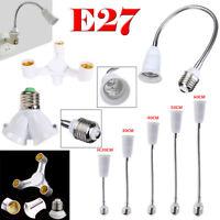 3 In 1 E27 To 3E27 Base Socket Splitter LED Light Lamp Bulb Split Adapter Holder