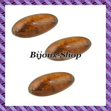 "5 Pearl Olive Wood Sheet "" Star Apple Leaf "" 34mm (Sheet Apple Tree)"