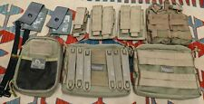 TACTICAL LOT MOLLE MAXPEDITION 511 BLACKHAWK USGI POUCHES AND STRAPS