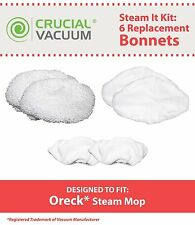 Oreck Washable Steam It Kit, Includes 6 Mop Pads Fit Oreck Steam Mop