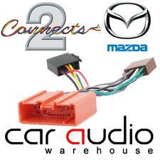 Mazda MX-5 MK2.5 2001-2005 Car Stereo Radio ISO Harness Adaptor Wiring CT20MZ02