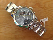 New - Reloj Watch Montre GEORGE J VON BURG - Stainless Steel - Box & Warranty
