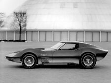 "1965 Chevrolet Corvette Mako Shark II Concept Car 11 x 14""  Photo Print"