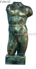 Büste Torso Büste  Mann Figur Skulptur Statue Antike 2011 / Material : Stuckgips