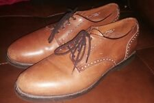 ALLEN EDMONDS CORPORATE CASUALS oxfords shoes brown