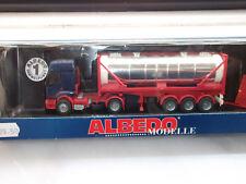 Albedo Renault  Silo-Sattelzug Neutral Blau - Silber mit OVP 1:87 Art.Nr. 710040