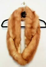 1950's Vintage Fox Fur Stole Pelts Wrap Collar Shawl