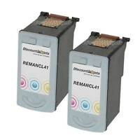 2PK CL41 Color Cl-41 Ink Cartridge for Canon PIXMA MP140 MP170 MP450 MP160 MP150