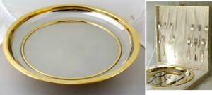 SERVIZIO DA DOLCE AXENDALE GOTTINGHEN acciaio inox 18/10 oro zecchino 24k posate
