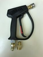MTM M407 Power Pressure Washer Gun With Coupler For Tips 4000psi M22 or 3/8plug