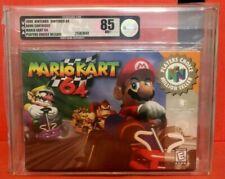 Mario Kart 64 Mariokart Nintendo 64 N64 NES VGA 85 Silver NEW Factory Sealed