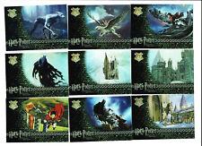 Harry Potter Prisoner of Azkaban 9 Card Foil Chase Puzzle Card Set R1 to R9