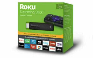 New Roku Streaming Stick (6th Generation) 3800RW VUDU Edition - Black 1080p HD