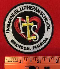 Christian School Patch Immanuel Lutheran School Brandon Florida Cross Heart