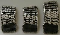 New Official Fast & Furious Black & Silver Lightweight Car Pedal Pad Covers SALE