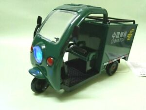 Courier Express delivery 1/32 electric 3-wheeler Truck China Post w light sound