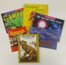 Lot of 5 Children's Books Insects and Animals paperback