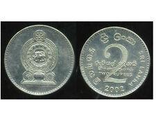 SRI LANKA  2 rupees  2002  ( bis )