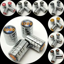 4x Car Tyre Valve Dust Stem Caps For Audi BMW M Sport Mini Land Rover VW Ford