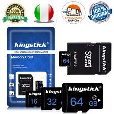 Micro SD Classe 10 16gb 32gb 64gb 128gb OFFERTA Memory Card + Adattatore TF