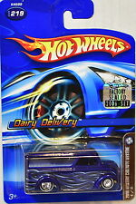 Hot Wheels 2006 Mystery Car Dairy Delivery #219 Blue Factory Sealed