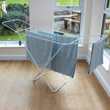 Airer Winged Folding Clothes Laundry Indoor Outodor Space 18m Garden by JVL